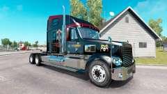La piel de Guns N Roses en el camión Freightline