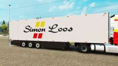 Semitrailer el refrigerador Schmitz Simon Loos