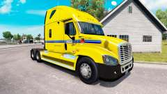 La piel en Penske camión Freightliner Cascadia