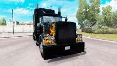 Ghost Rider de la piel para el camión Peterbilt