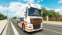 Truckland de la piel para DAF camión