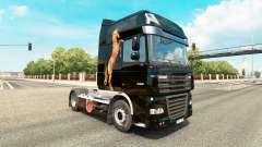 Caballos de la piel para DAF camión