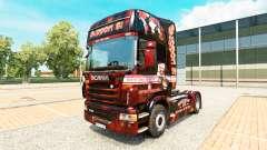 Apoyo 81 de la piel para Scania camión