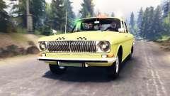 GAZ-24 Volga Taxi