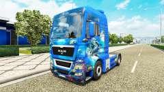 Océano de la piel para el HOMBRE camión