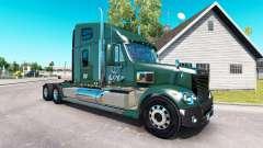 La piel de LDI en el camión Freightliner Coronad