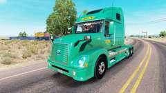 Abilene Express de la piel para camiones Volvo V