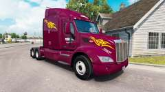 La Piel Prime Inc. el tractor Peterbilt
