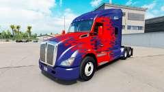 La piel de Optimus Prime camión Kenworth