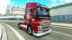 La piel De la Logística en Volvo trucks