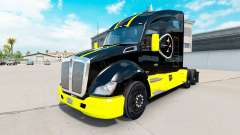 Pittsburgh Steelers de la piel para el Kenworth