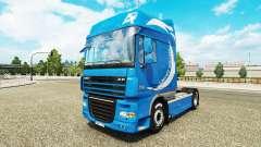 Edición limitada de la piel para DAF camión