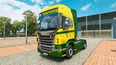 El Ouro Verde Transportes de la piel para Scania