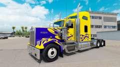 La piel en Nevada Personalizado camión Kenworth