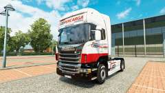 Coopercarga Logistica de la piel para Scania cam