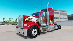 La piel Águila en el camión Kenworth W900
