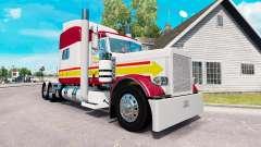 La piel DE in-N-OUT para el camión Peterbilt 389