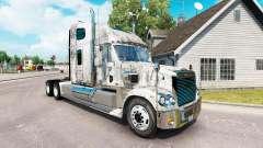 La piel Grunge Metal en el camión Freightliner C