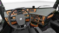 Darkline interior Exclusivo para Volvo