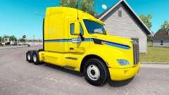 Penske la piel para el camión Peterbilt