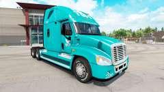 La piel TUM en el tractor Freightliner Cascadia