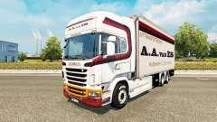 La piel de A. A. van ES para tractor Scania Tánd