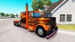 La piel Texas, estados UNIDOS para el camión Pet