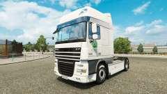 La piel Woolworths para camiones DAF, Scania y V