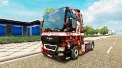 Apoyo 81 de la piel para el HOMBRE camión