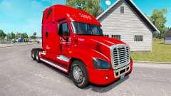 La piel de Caballero camión Freightliner Cascadi