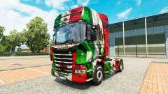 El México de Copa 2014 de la piel para Scania ca