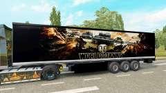 La piel de World of Tanks en el remolque