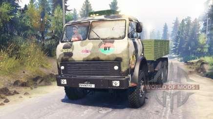 MAZ-515Б 6x6 para Spin Tires