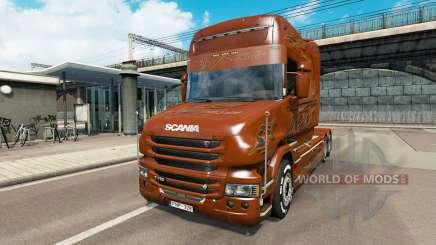 Scania T Longline [Black Amber] para Euro Truck Simulator 2