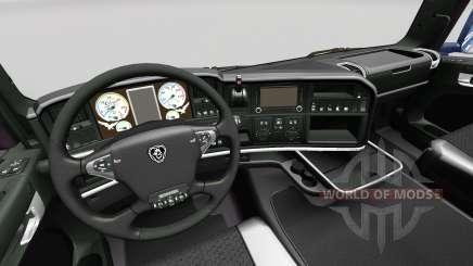 La Oscuridad de la Línea interior Exclusivo para Scania para Euro Truck Simulator 2
