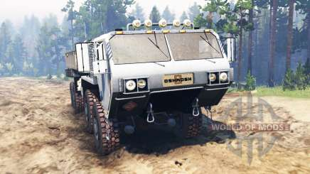 Oshkosh HEMTT M977 para Spin Tires