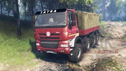 Tatra Phoenix T 158 8x8 v6.0 para Spin Tires
