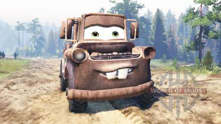 Mater para Spin Tires