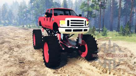 Ford F-350 Super Duty 2010 para Spin Tires