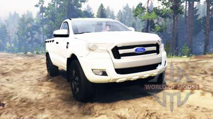 Ford Ranger 2016 para Spin Tires
