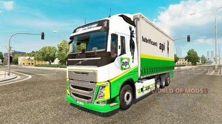 Volvo FH 2012 [tandem] para Euro Truck Simulator 2