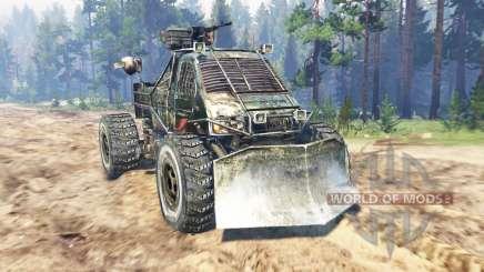 GAZ-3302 [Metro 2033] para Spin Tires