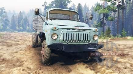 GAZ-52 4x4 para Spin Tires