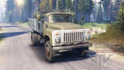 GAZ-53 v3.0 para Spin Tires