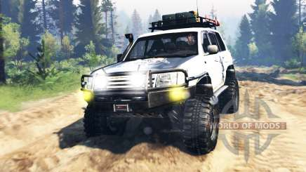 Toyota Land Cruiser 100 2000 [Samuray] v3.0 para Spin Tires