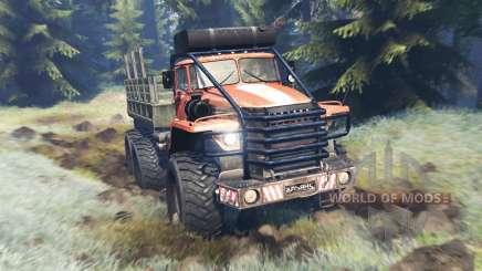Ural-4320 Explorador Polar v13.0 para Spin Tires