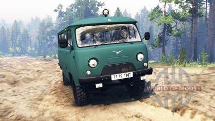 UAZ-39621 para Spin Tires