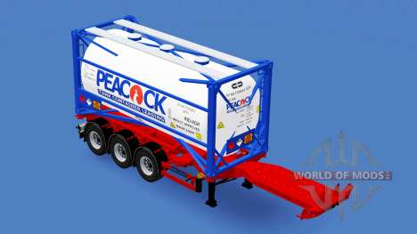 Contenedor semi-remolque D-tec para American Truck Simulator