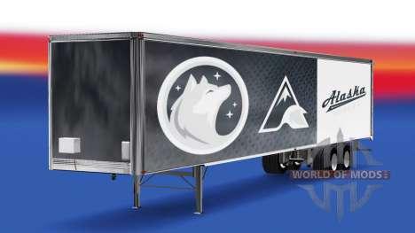 La piel de los Perros esquimales de Alaska en el para American Truck Simulator