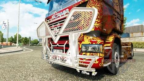 Excelente calidad de Viking tractor Scania para Euro Truck Simulator 2
